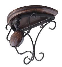 wholesale wall shelf in mango wood u0026 iron u2013 7 5 u201d handmade rustic