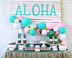 party ideas luau party for tweens karas party ideas hawaiian luau
