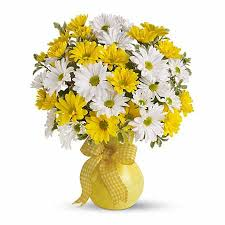 bouquet delivery yellow and white bouquet at send flowers