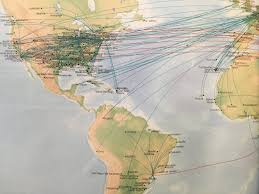 Turkish Airlines Route Map by The Timetablist Etihad Route Map September 2016 The Americas