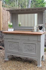 Painted Buffets And Sideboards by Large Antique Victorian Painted Sideboard French Style Carved Oak