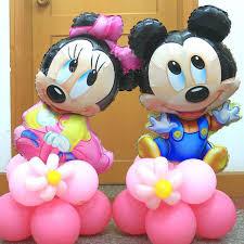 child birthday balloon decoration bundle balloon tables placed