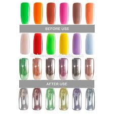 mirror nail powder brands chrome powder nail magic mirror