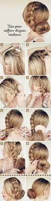 chignon mariage facile a faire coiffure tendance pour femme