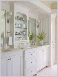 Shaker Style Bathroom Cabinets by Tall White Shaker Style Bathroom Cabinet Freestanding Cabinet