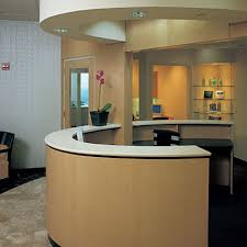 Granite Reception Desk The Dental Salon Interior Design Restructure In Lincoln Park