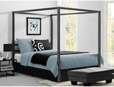 Black Four Poster Bed Frame Four Poster Bed Ebay