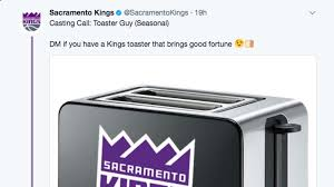 Cleveland Browns Toaster Warriors U0027 Toaster Guy Inspired The Sacramento Kings To Look For