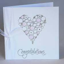a handmade wedding congratulations card handmade by helen
