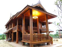 Asian Style House Plans Traditional Thai House My Sister U0026 Brother In Law House In