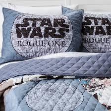 Star Wars Comforter Set Full Rogue One A Star Wars Story Quilt Full Queen Gray Target