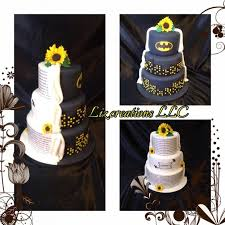 batman wedding topper half batman wedding cake topper with custombatman and