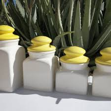yellow canister sets kitchen best white canister set products on wanelo