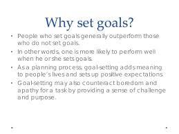 1 goal setting lessons tes teach
