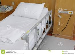 comfortable hospital bed stock image image 33506541