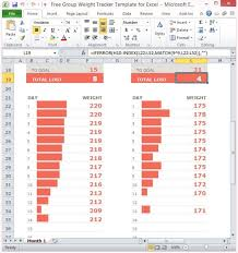 Tracking Spreadsheet Excel Free Free Weight Tracker Template For Excel