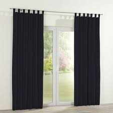 Black Tab Top Curtains Black Tab Top Curtains Wayfair Co Uk