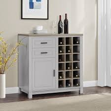 Distressed Wood Bar Cabinet Callowhill Bar Cabinet With Wine Storage Products Pinterest