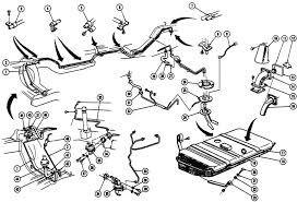 1967 68 firebird fuel system illustrated parts break down