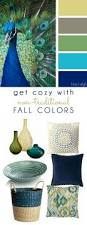 Peacock Colour Cushions Decorating With Style Get Cozy With Non Traditional Fall Colors