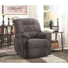 coaster chenille glider and ottoman in chocolate coaster recliners power lift recliner coaster fine furniture