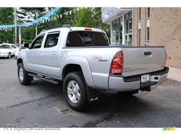 toyota tacoma silver 2008 toyota tacoma v6 trd sport double cab 4x4 in silver streak