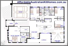 4 Bedroom Single Story Floor Plans Single Story House Plans Floor Plan House Build Pinterest