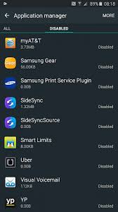 delete apps android note 5 apps to delete and or disable right out of the box