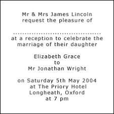 Wedding Reception Invitation Wording Invitation Wording For Reception Only Samples