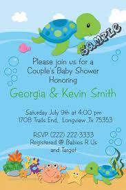 turtle baby shower turtle baby shower invitations blueklip