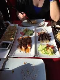 cuisine et vie yakitori boeuf fromage et de poulet picture of sushi a la vie