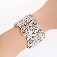 bangle style charm bracelet images Natural stone strand bracelet fashion bracelets for women summer jpg