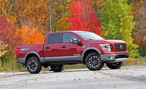 nissan truck titan red 2017 nissan titan in depth model review car and driver