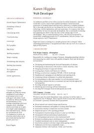 How To Write An Online Resume by 7 Best Web Designer Resume Template Images On Pinterest Creative