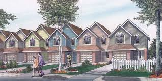 Duplex House Plans For Narrow Lots Narrow Lot House Plan Small Lot House Plan 20 Wide House 9920