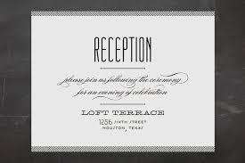 wedding reception wording reception only wedding invitations that won t make your guests