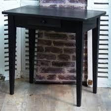 petit bureau noir petit bureau noir patiné vendue idées pour la maison