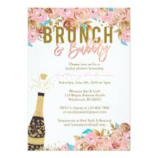 chagne brunch bridal shower invitations bubbly brunch bridal shower gifts on zazzle