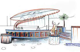 interior design idea concept for a large discothek in vorarlberg