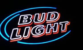 bud light for sale large bud light beer logo lighted led sign not neon for sale in