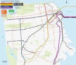 Zip Code Map San Francisco by Transit Map San Francisco Michigan Map