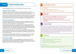 frankenstein aqa gcse english literature text guide collins snap