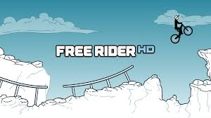 Free Rider Hd Free Online Games At Agame Com