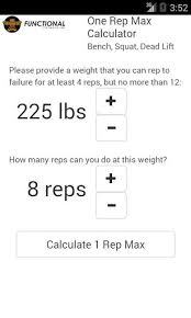 1 Rep Max Calculator Bench 28 Bench 1 Rep Max Calculator 1 Rep Max Android Apps On