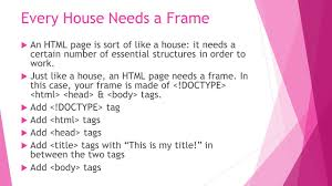 build your own webpage code academy ppt download