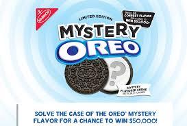 Hearst Sweepstakes Oreo Mystery Flavor Sweepstakes