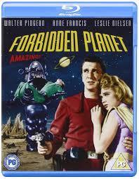 forbidden planet blu ray 1956 region free amazon co uk
