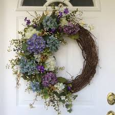hydrangea wreath wreath hydrangea wreath wreath for door summer