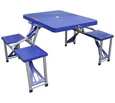 fold out picnic table buy folding picnic table and stools cing tables argos