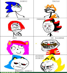 Memes Characters - sonic characters as memes by hypersonic247 on deviantart
